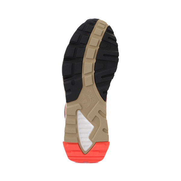 alternate view Mens adidas ZX 1K Boost Athletic Shoe - Beige Tone / Solar Red / Victory CrimsonALT3