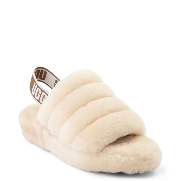 alternate view Womens UGG® Fluff Yeah Slide Sandal - NaturalALT5