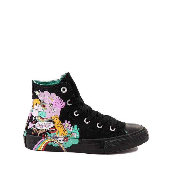 Converse Chuck Taylor All Star Hi Notebook Sneaker - Little Kid - Black