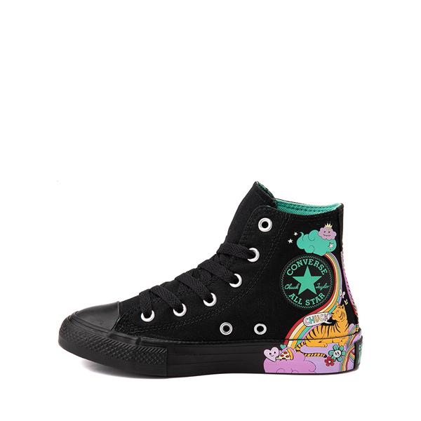 alternate view Converse Chuck Taylor All Star Hi Notebook Sneaker - Little Kid - BlackALT1