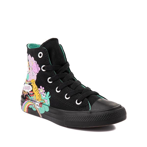 alternate view Converse Chuck Taylor All Star Hi Notebook Sneaker - Little Kid - BlackALT5