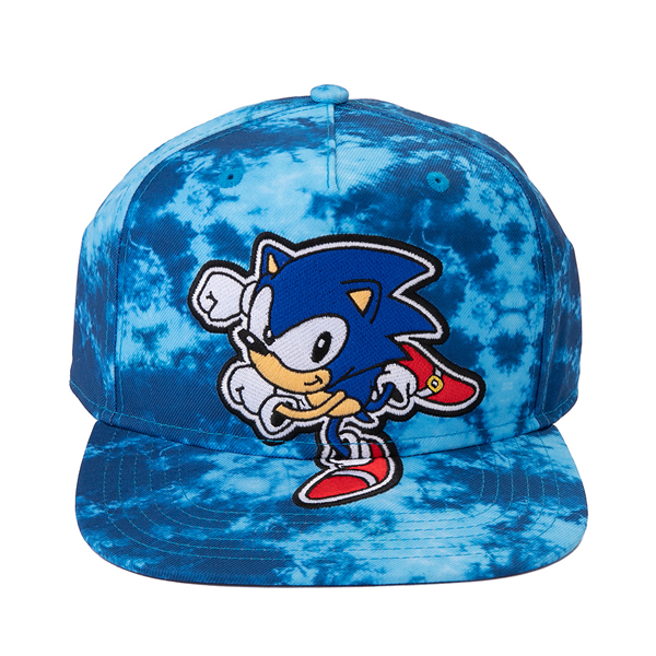 Sonic The Hedgehog® Snapback Cap - Blue Tie Dye