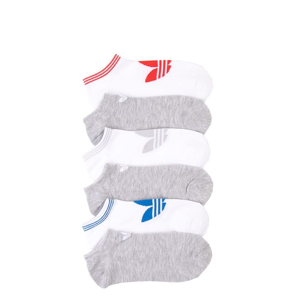 Womens adidas Low Cut Socks 6 Pack - Multicolor