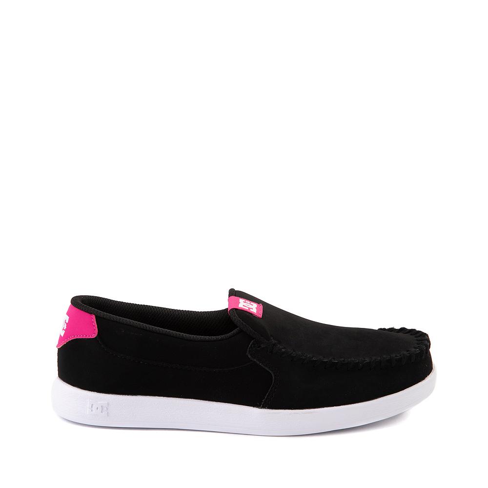 Womens DC Villain Skate Shoe - Black / Crazy Pink
