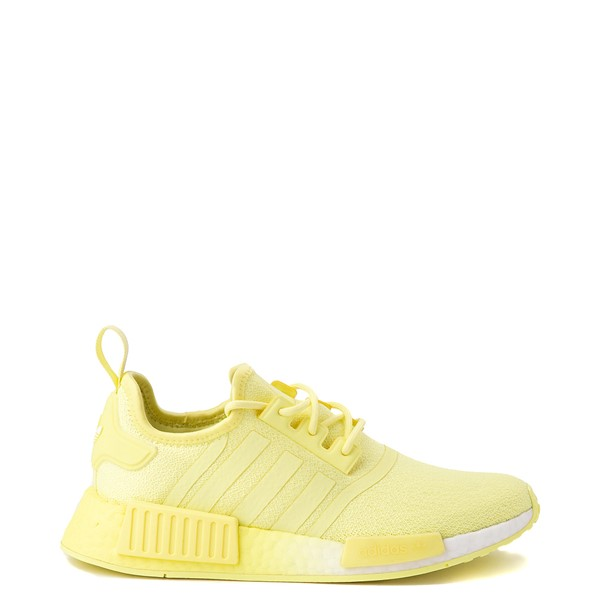 Main view of Womens adidas NMD R1 Athletic Shoe - Pulse Yellow Monochrome