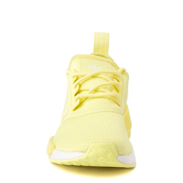 alternate view Womens adidas NMD R1 Athletic Shoe - Pulse Yellow MonochromeALT4