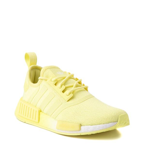 alternate view Womens adidas NMD R1 Athletic Shoe - Pulse Yellow MonochromeALT5