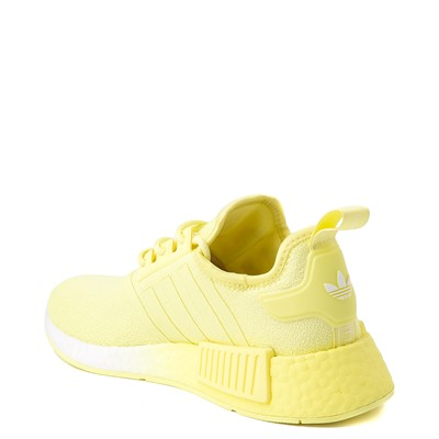 Alternate view of Womens adidas NMD R1 Athletic Shoe - Pulse Yellow Monochrome
