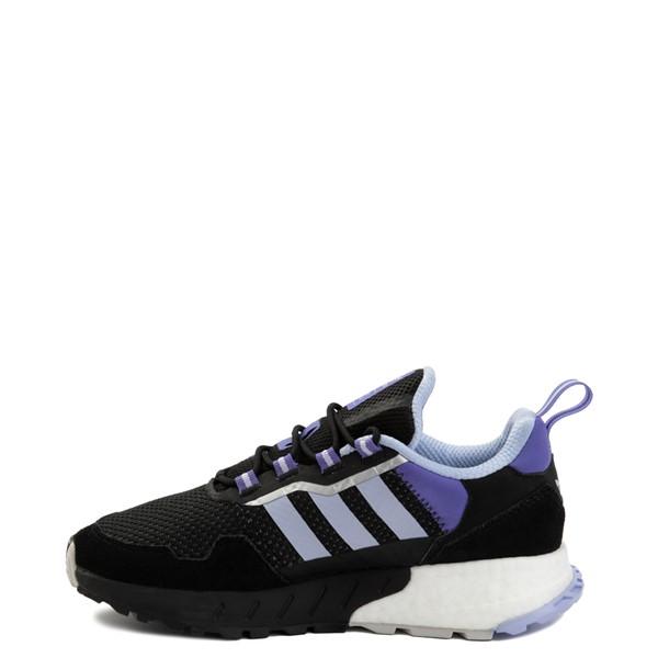 alternate view Womens adidas ZX 1K Boost Athletic Shoe - Black / Violet Tone / PurpleALT1