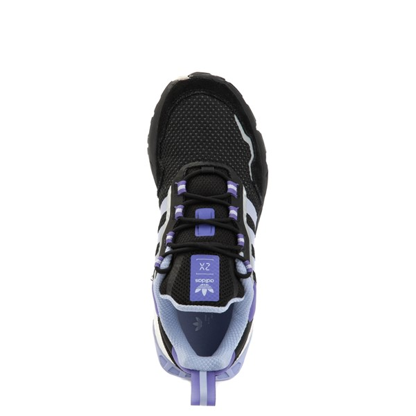 alternate view Womens adidas ZX 1K Boost Athletic Shoe - Black / Violet Tone / PurpleALT2