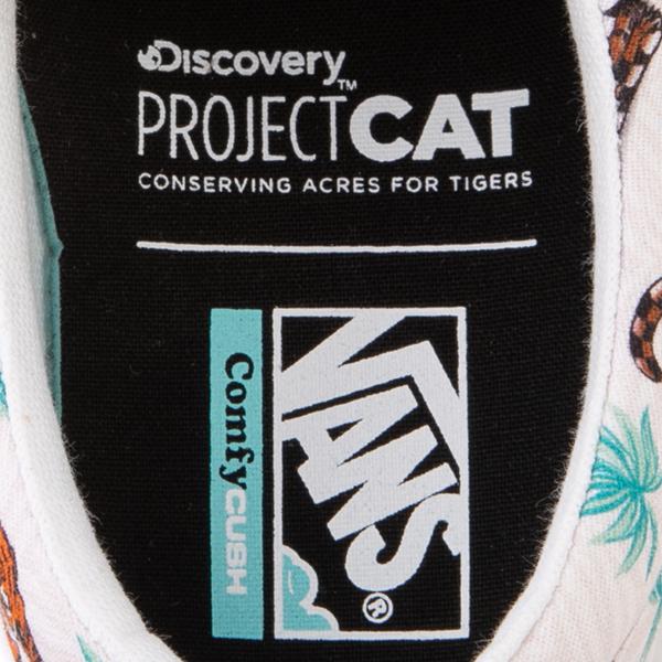 alternate view Vans x Project CAT Era ComfyCush® Skate Shoe - White / Tiger CheckALT2B