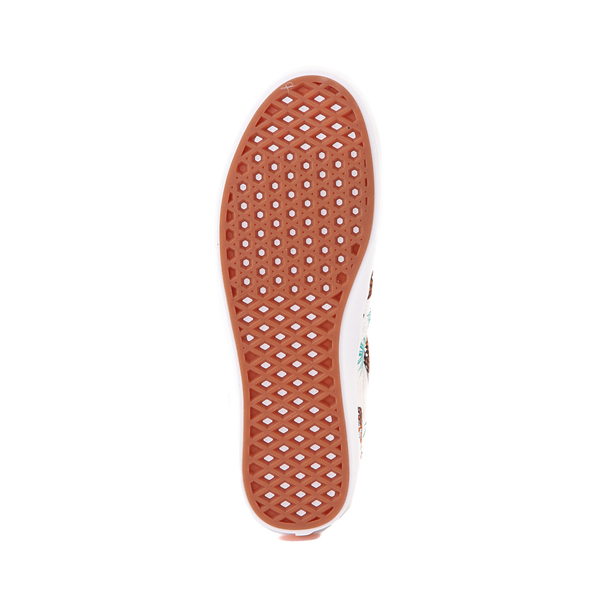 alternate view Vans x Project CAT Era ComfyCush® Skate Shoe - White / Tiger CheckALT3