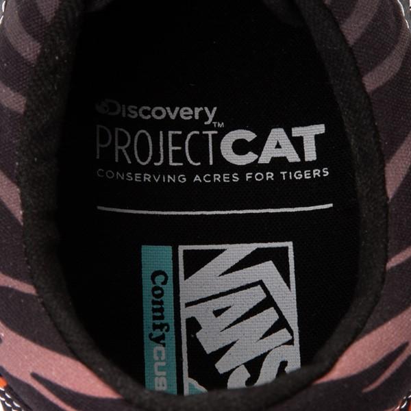 alternate view Vans x Project CAT Old Skool ComfyCush® Skate Shoe - Black / Tiger FadeALT2B