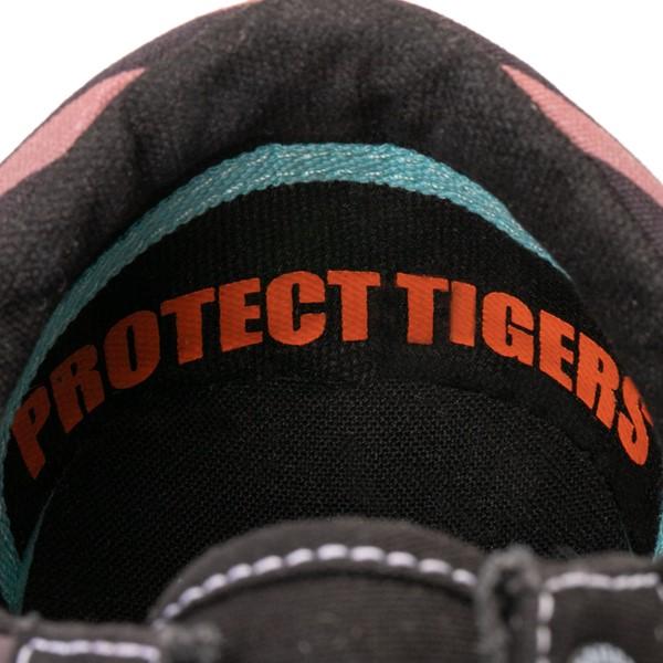 alternate view Vans x Project CAT Old Skool ComfyCush® Skate Shoe - Black / Tiger FadeALT2C