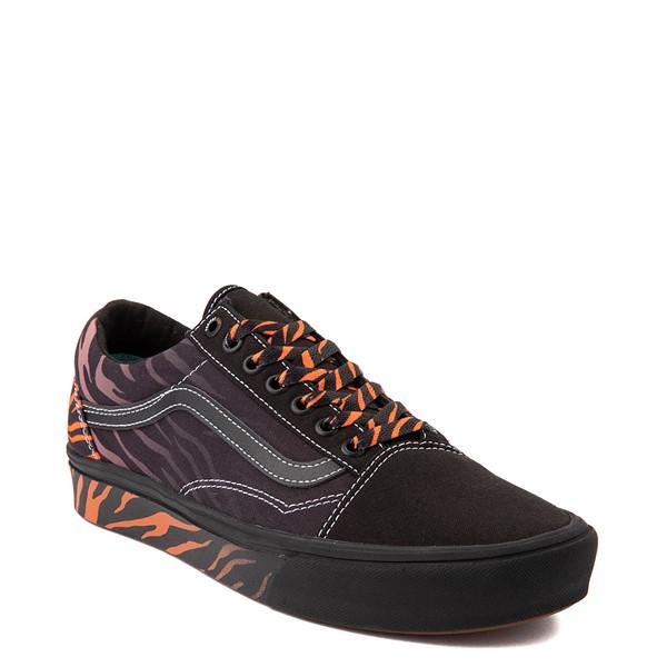 alternate view Vans x Project CAT Old Skool ComfyCush® Skate Shoe - Black / Tiger FadeALT5