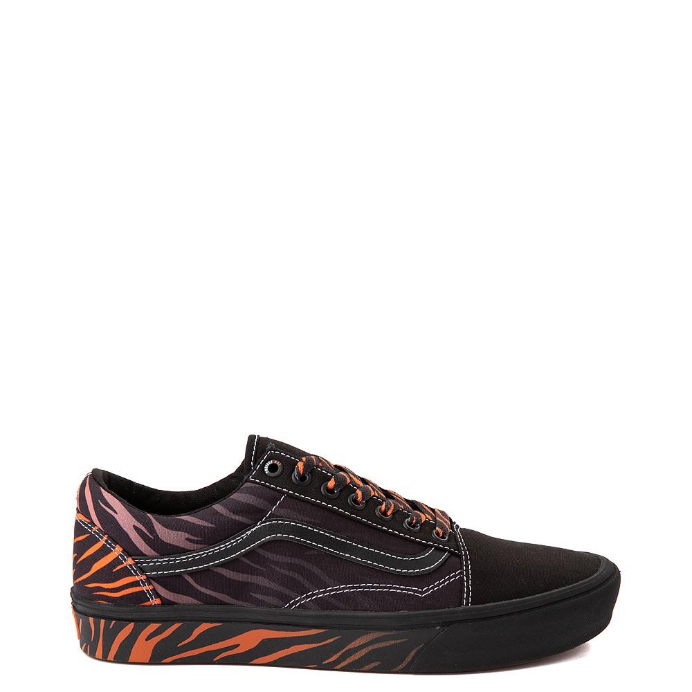Vans x Project CAT Old Skool ComfyCush® Skate Shoe - Black / Tiger Fade