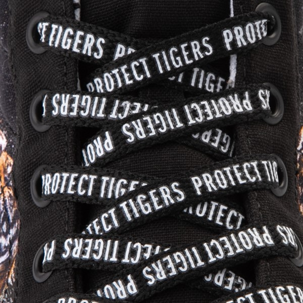 alternate view Vans x Project CAT Sk8 Hi ComfyCush® Skate Shoe - Black / Playing TigersALT2C