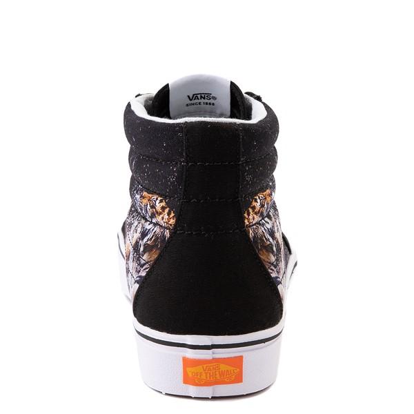 alternate view Vans x Project CAT Sk8 Hi ComfyCush® Skate Shoe - Black / Playing TigersALT4