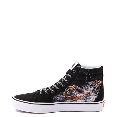 Alternate view of Vans x Project CAT Sk8 Hi ComfyCush® Skate Shoe - Black / Playing Tigers