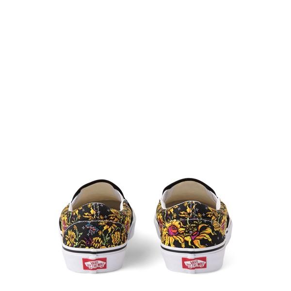 alternate view Vans Slip On Beauty Skull Skate Shoe - BlackALT4