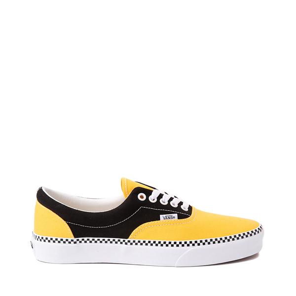 Vans Era Checkerboard Skate Shoe - Spectra Yellow / Black