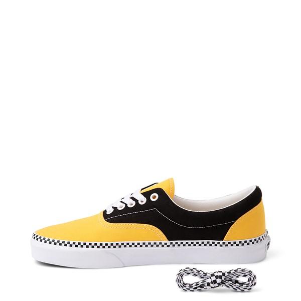 alternate view Vans Era Checkerboard Skate Shoe - Spectra Yellow / BlackALT1