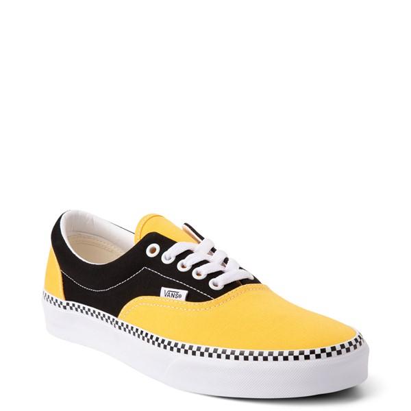 alternate view Vans Era Checkerboard Skate Shoe - Spectra Yellow / BlackALT5
