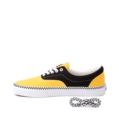 Alternate view of Vans Era Checkerboard Skate Shoe - Spectra Yellow / Black