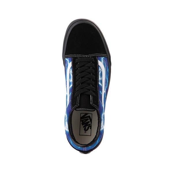 alternate view Vans Old Skool Skate Shoe - Black / LightningALT2