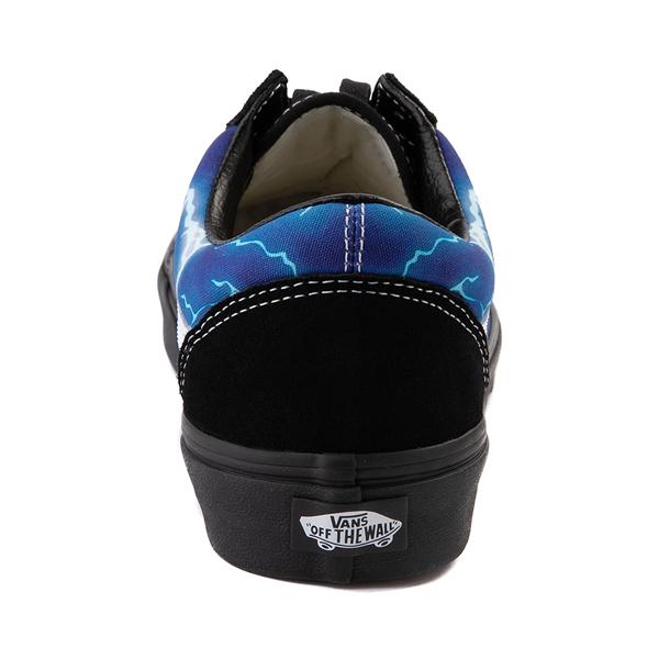 alternate view Vans Old Skool Skate Shoe - Black / LightningALT4
