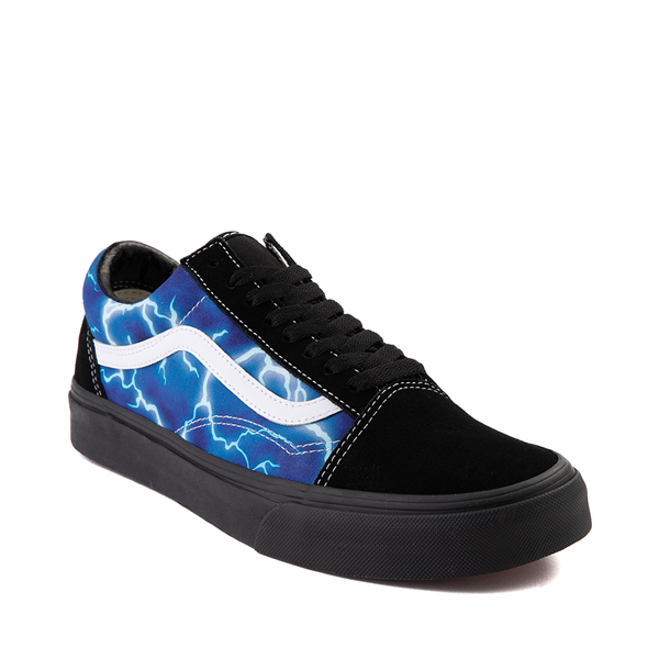 alternate view Vans Old Skool Skate Shoe - Black / LightningALT5