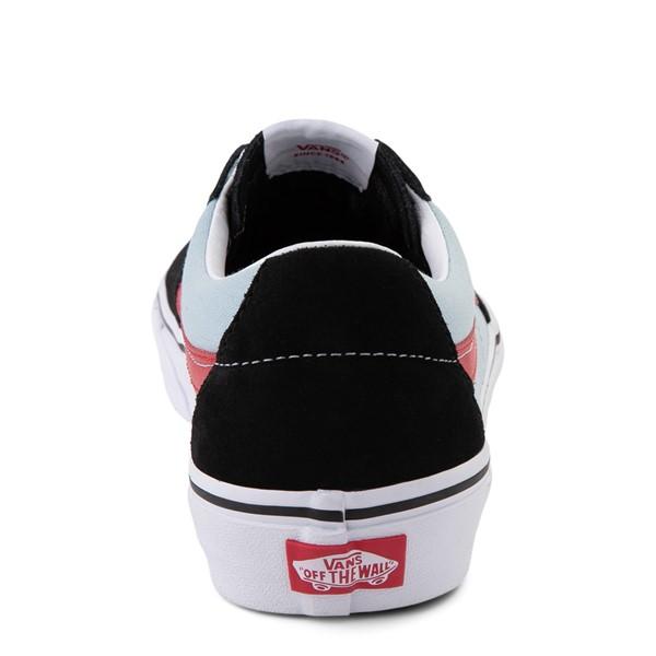 alternate view Vans Sk8 Low Skate Shoe - Black / Winter SkyALT4