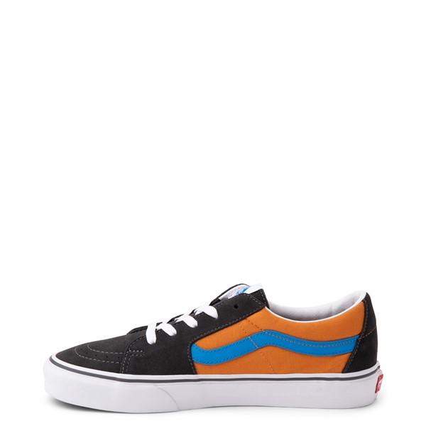 alternate view Vans Sk8 Low Skate Shoe - Asphalt / Desert SunALT1