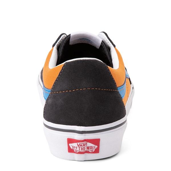 alternate view Vans Sk8 Low Skate Shoe - Asphalt / Desert SunALT4