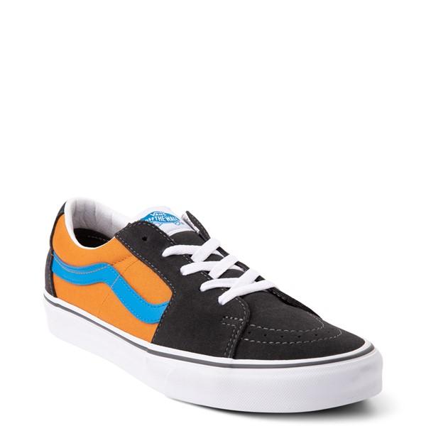 alternate view Vans Sk8 Low Skate Shoe - Asphalt / Desert SunALT5
