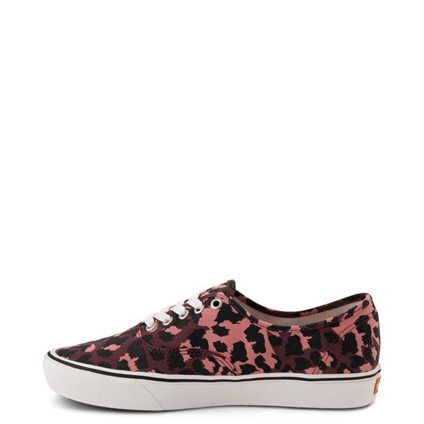 alternate view Vans Authentic ComfyCush® Skate Shoe - Red LeopardALT1
