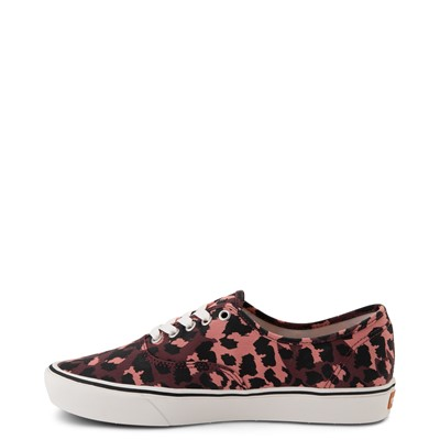 Alternate view of Vans Authentic ComfyCush® Skate Shoe - Red Leopard