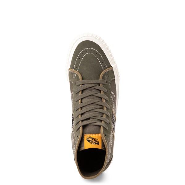 alternate view Vans Sk8 Hi Gym Issue World Code Skate Shoe - Grape LeafALT2