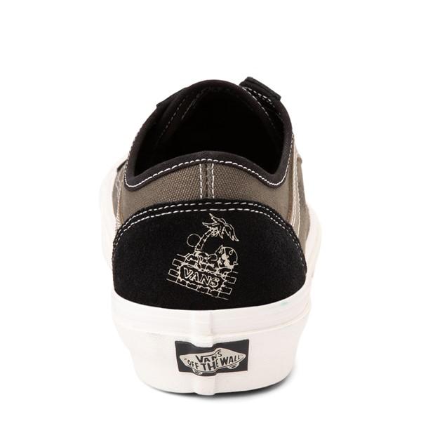 alternate view Vans Old Skool Tapered World Code Skate Shoe - Black / Grape LeafALT4