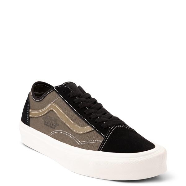 alternate view Vans Old Skool Tapered World Code Skate Shoe - Black / Grape LeafALT5