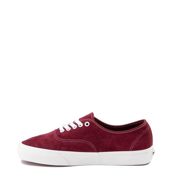 alternate view Vans Authentic Suede Skate Shoe - PomegranateALT1