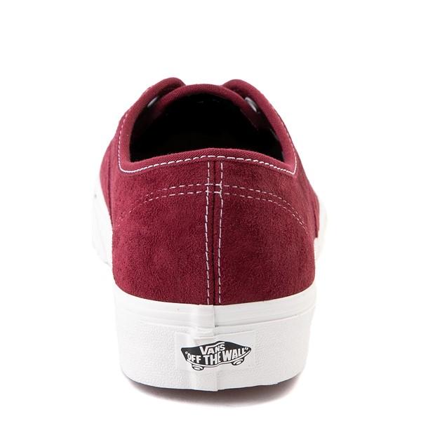alternate view Vans Authentic Suede Skate Shoe - PomegranateALT4