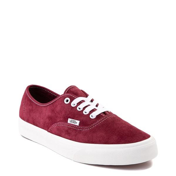 alternate view Vans Authentic Suede Skate Shoe - PomegranateALT5