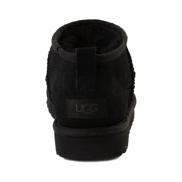 alternate view Womens UGG® Classic Ultra Mini Boot - BlackALT4