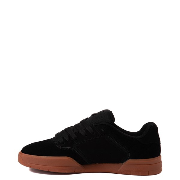 alternate view Mens DC Central Skate Shoe - Black / GumALT1