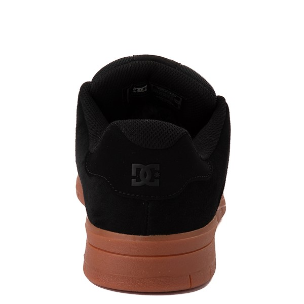 alternate view Mens DC Central Skate Shoe - Black / GumALT4
