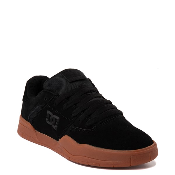 alternate view Mens DC Central Skate Shoe - Black / GumALT5