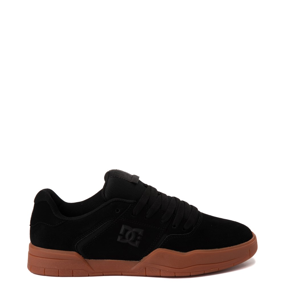 Mens DC Central Skate Shoe - Black / Gum