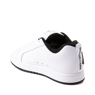 Alternate view of Mens DC Court Graffik Skate Shoe - White / Black