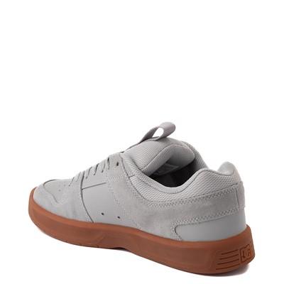 Alternate view of Mens DC Lynx Zero Skate Shoe - Gray